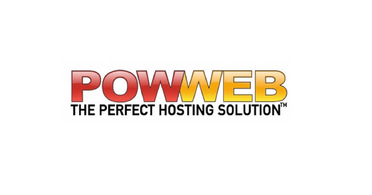 68% Off 1-Year Hosting Plan at PowWeb